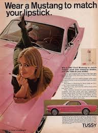 (In case you thought I was kidding about the lipstick thing, here's an actual ad from the 1960s about that very thing.)