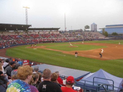 spokane indians game aug 2015