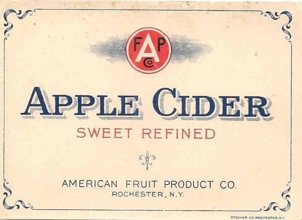 apple cider label