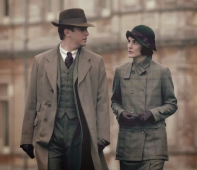 tweed downton abbey