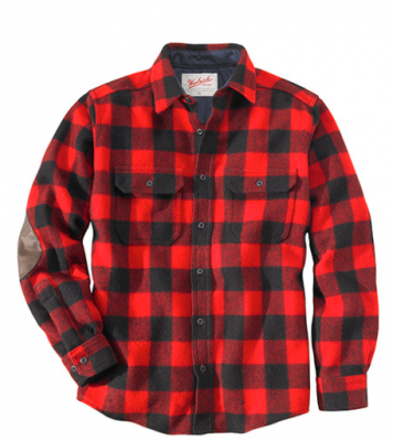 Buffalo plaid shirt, favored shirt of lumberjacks and grunge rockers. Source: bustle.com
