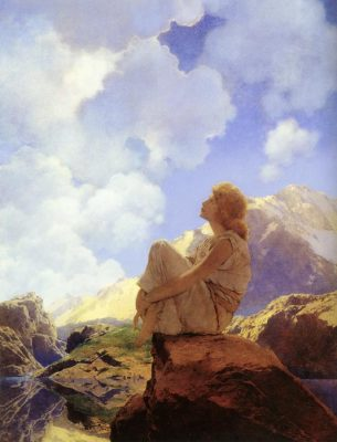 "Maxfield Parrish, ""Morning"""
